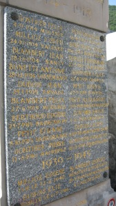 Death in paradise: the war memorial in Doucy-en-Bauges